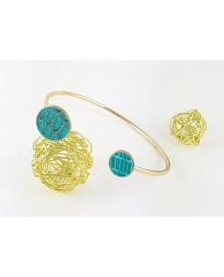 "Bracelet ""Moon"" turquoise"