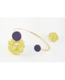 """Bracelet """"Moon"""" violet"""