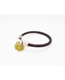 bracelet homme marron