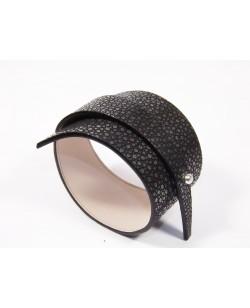 Bracelet galuchat noir