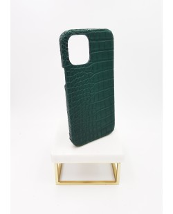 Coque Iphone alligator 12 pro vert anglais
