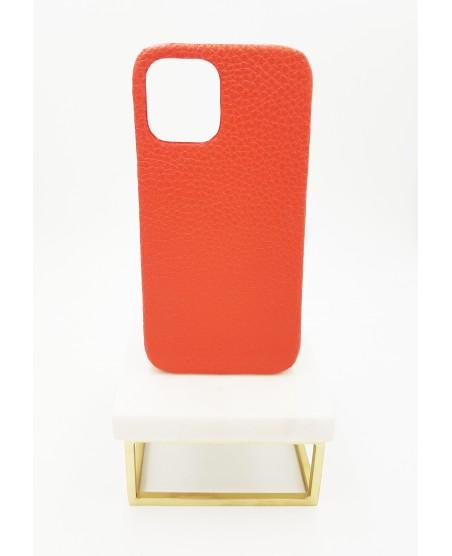Coque Iphone 12 pro max veau grainé